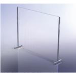 Mampara de vidrio templado 6 mm de grosor Peana Mejorada - Aquahome