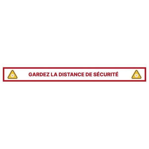 Pack de vinilos adhesivos - Mantén la distancia de seguridad - Duscholux