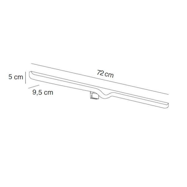 Aplique de luz led 72 cm - 7665 - Manillons Torrent