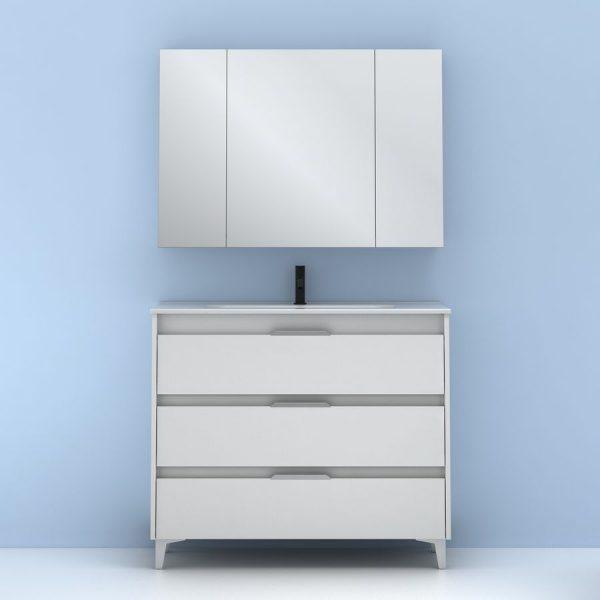 Conjunto de mueble Suki 100 cm - Amizuva