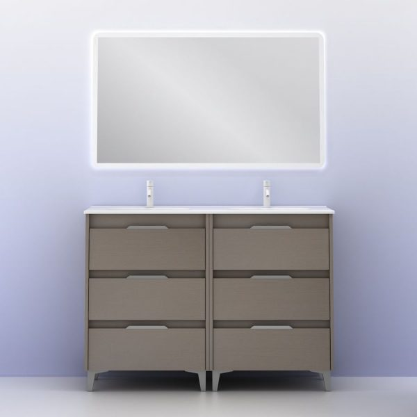 Conjunto de mueble Suki 120 cm - Amizuva