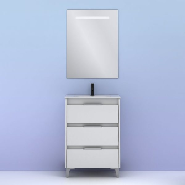 Conjunto de mueble Suki 60 cm - Amizuva
