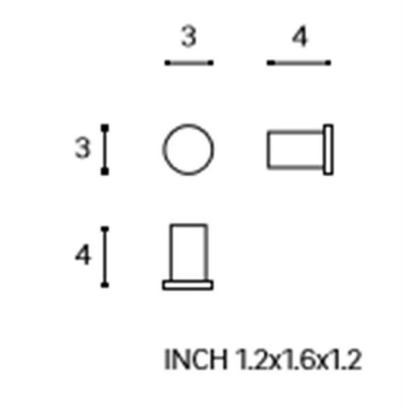 Colgador Simple - Logic - Cosmic