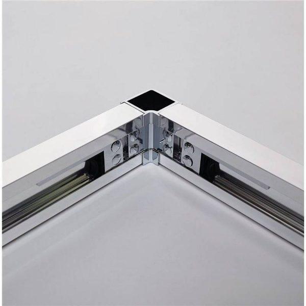 Mampara angular 2 fijos + 2 correderas - Basic - GME