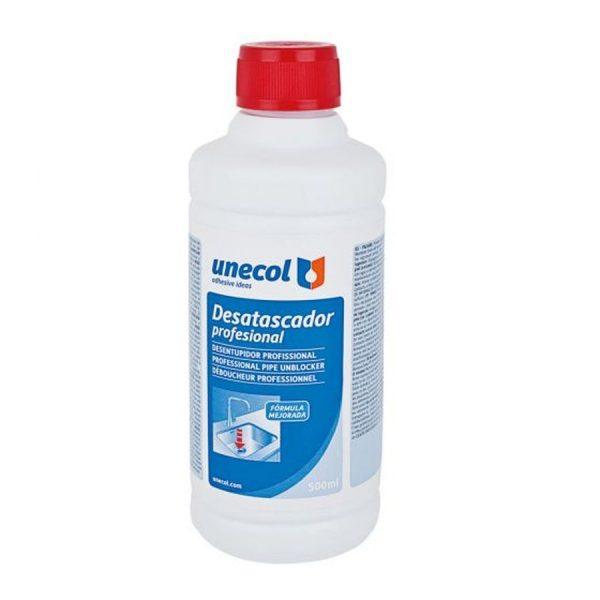 Desatascador profesional 500 ml - Unecol