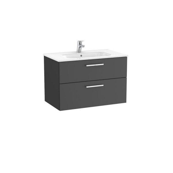 Unik mueble base con dos cajones y lavabo- Victoria - Roca