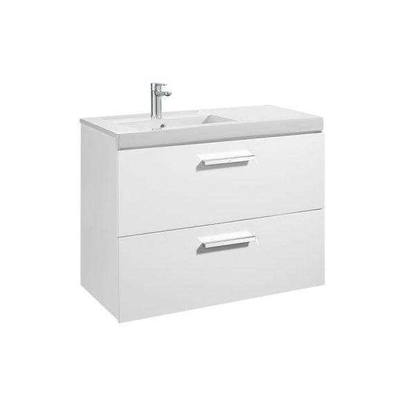 Conjunto completo mueble + lavabo de 90 o 110 cm - Prisma - Roca