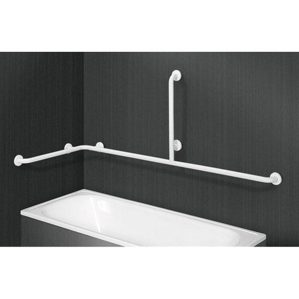 Barra de sujeción en ángulo para bañeras - Prestobar 195 - PrestoEquip