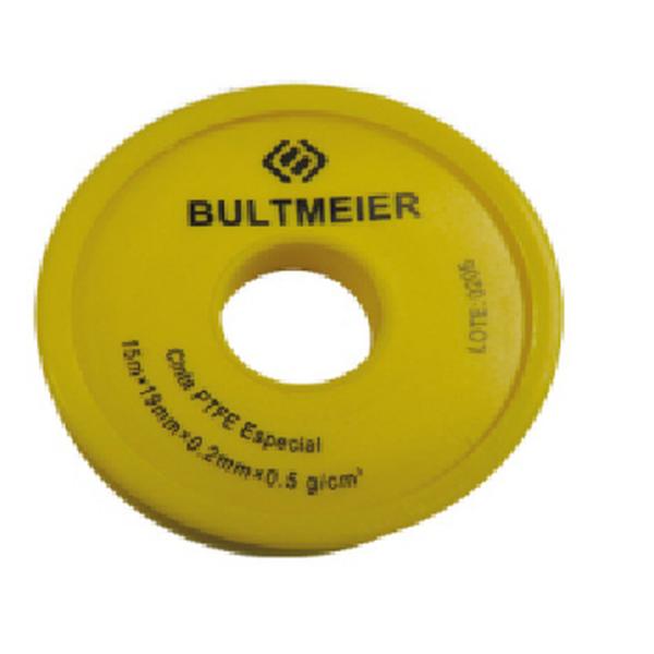 Rollo 12x0,1mm cm de cinta pequeña cruda de teflón - Bultmeier