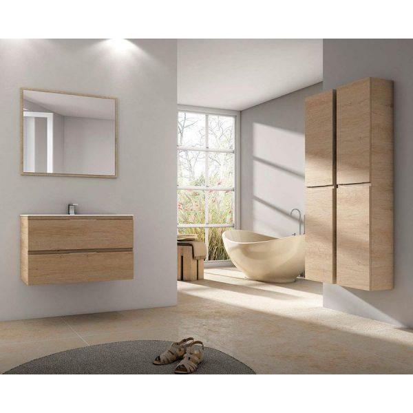 Mueble Suspendido 2 cajones + lavabo Bogotá - Módena - Futurbaño