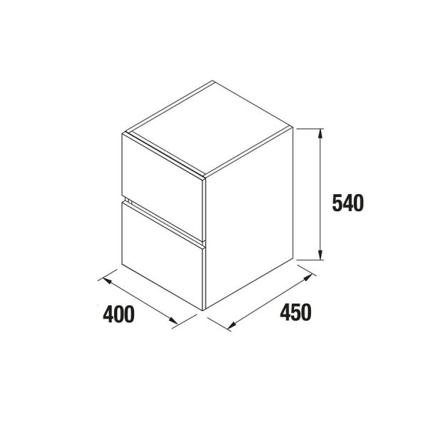 Coqueta de 25 o 40 cm - Fussion Line - Salgar