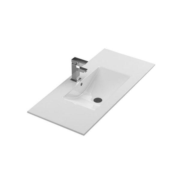 Lavabo de cerámica blanco - New Morning - Stillö