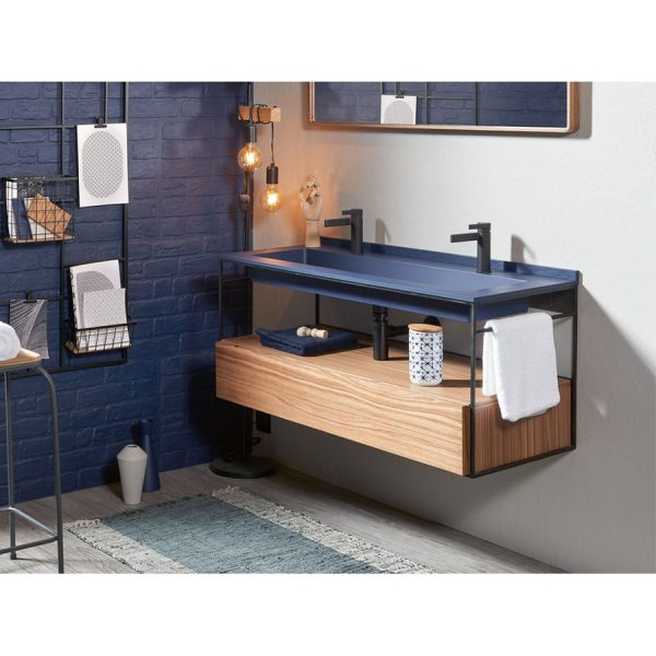 Mueble suspendido + lavabo - Integra - Acquabella